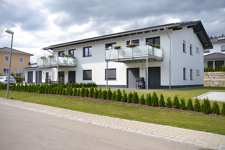 Lang-Bau GmbH - 4 Familienwohnhaus in Waldkirchen