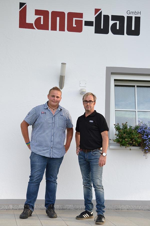 Lang-Bau GmbH - Lehrling Michael Moser 2015